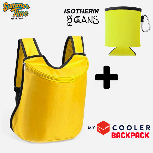 Cooler set (backpack + cover for cans) 5