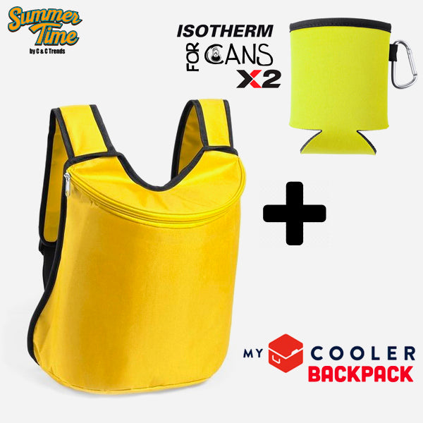 Cooler set (backpack + cover for cans) 10