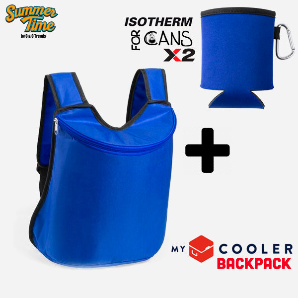 Cooler set (backpack + cover for cans) 6