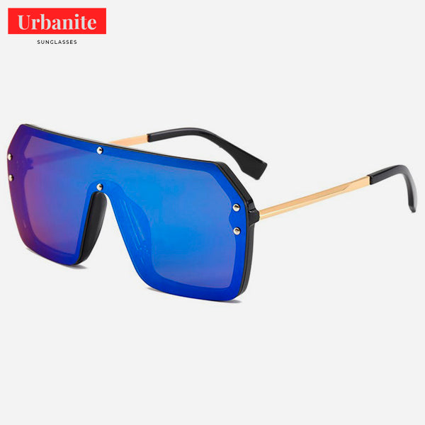 Crazy Mirror Aviator Sunglasses