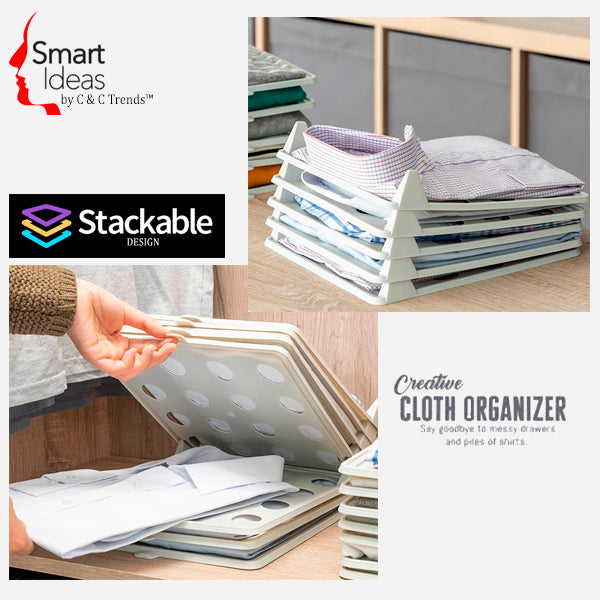 Creative Stackable Clothes Organizer 3