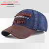 Denim Embroidery Original Snapback Cap