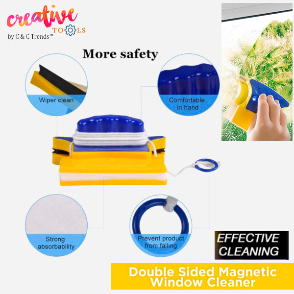 Double-sided Magnetic Glass Cleaner 3