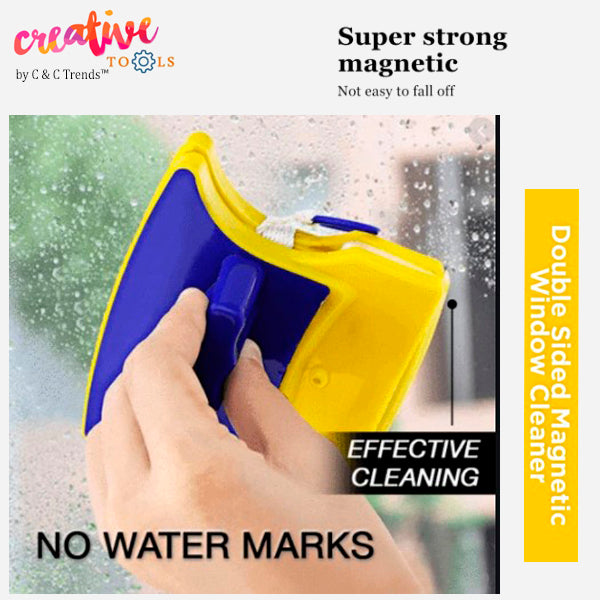 Double-sided Magnetic Glass Cleaner 9