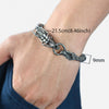 Dragon Head Stainless Steel Bracelet