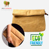 Eco Pleated Kraft Paper Day Clutch Bag