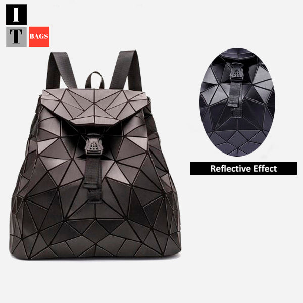 Fashion Holographic Reflective Backpack