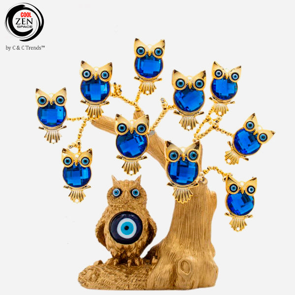 Feng Shui Tree of Owls for Prosperity 5a
