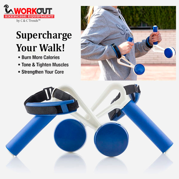 Fitness Hand Weights for Walking (Pack of 2)