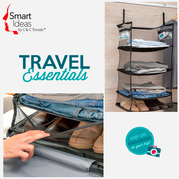 Folding Travel Luggage Organizer  3
