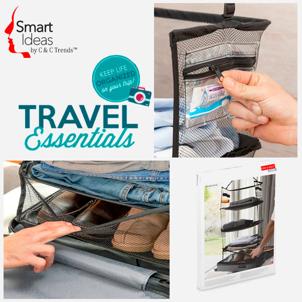 Folding Travel Luggage Organizer  4