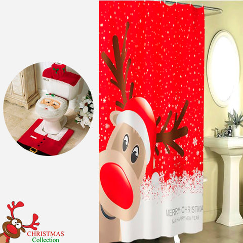 Funny Christmas Bathroom Accessories