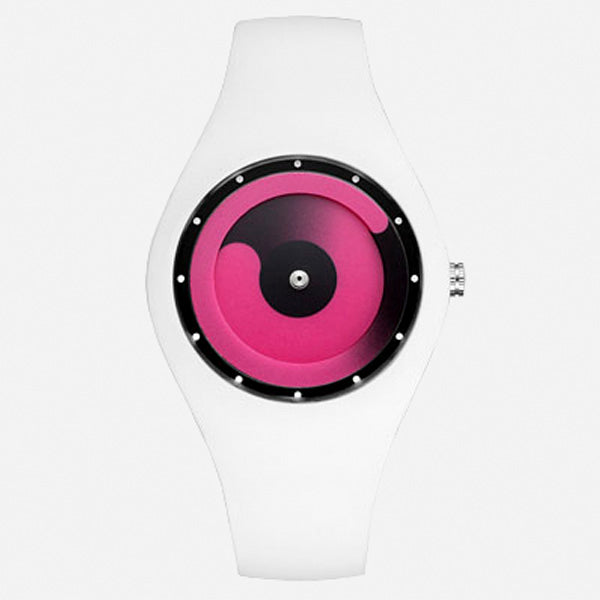 Futuristic Silicone Sports Watch