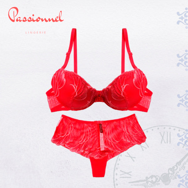 a12f5473b0b0 Gauze and Lace Transparent Temptation Thong-Bra Set | Cool and Crazy ...