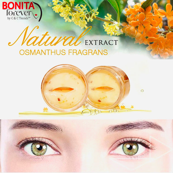 Gold Osmanthus Eye Mask 8
