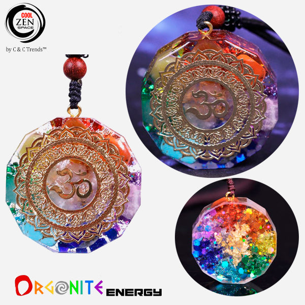 Handmade Orgonite Energy Geometric Necklace