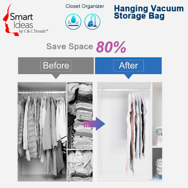 Hanging Vacuum Storage bag (3X Space Saving) 2