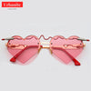 Heart Arrows Crazy Sunglasses
