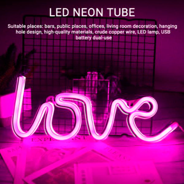 LED Neon Light Sign with Love Ideas 1