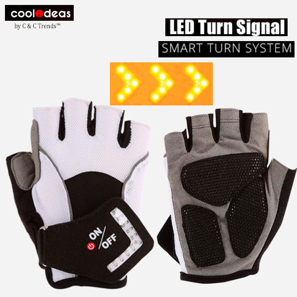 LED Turn Signal Gloves for Riders 5