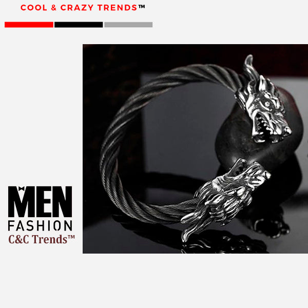 Legendary Dragon Wire-cable Bracelet