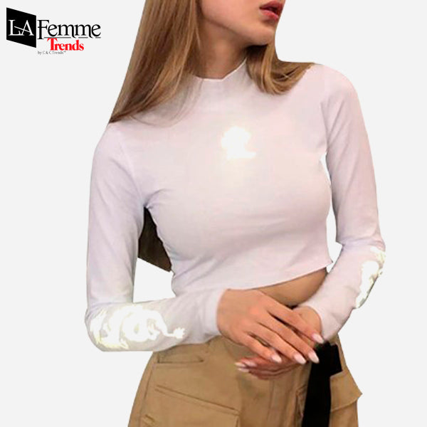 Luminous Dragon Long Sleeve Kawaii Top  5