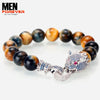 Luxury Dragon Zirconia Men's Bracelet 1a