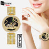 Luxury Rhinestone Leopard Woman Watch 1a
