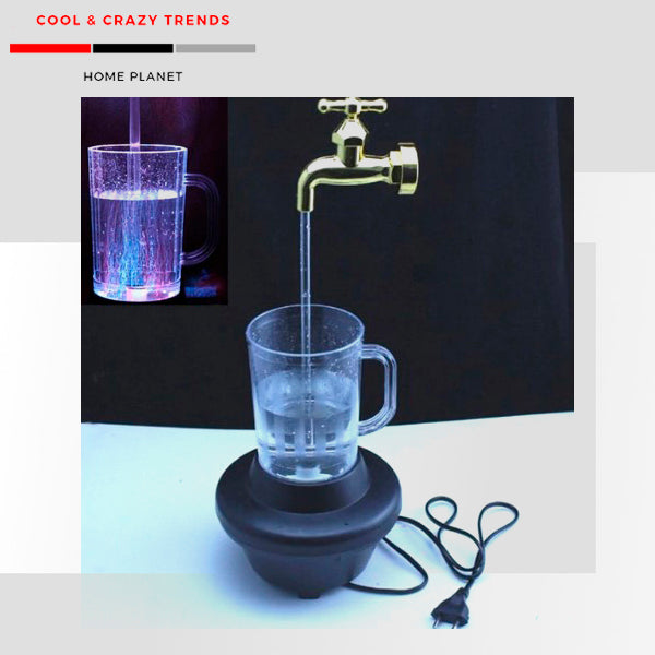 Magic Water Faucet LED Lamp