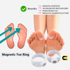 Magnetic Acupressure Foot Toe Rings 5a