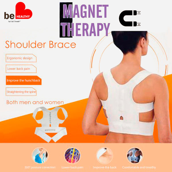 Magnetotherapy Adjustable Posture Corrector Corset 3