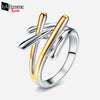 Metallic Fashion Cross Ring 1a
