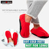 Microwave Foot Warmer Slippers 3