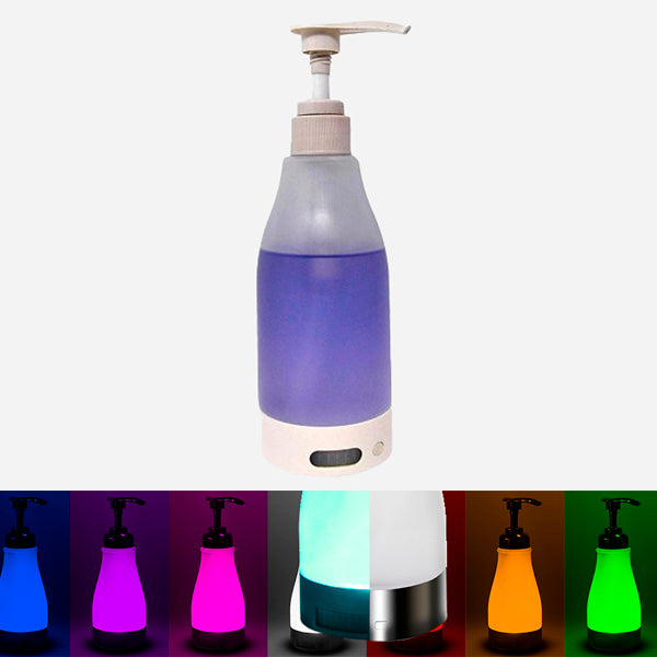 Motion-Activated Glowing Soap Dispenser