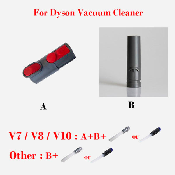 Multi-functional Universal Vacuum Attachment