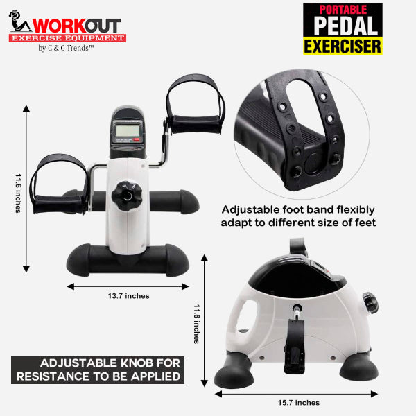 Multifunction Pedal Exerciser Workout 4