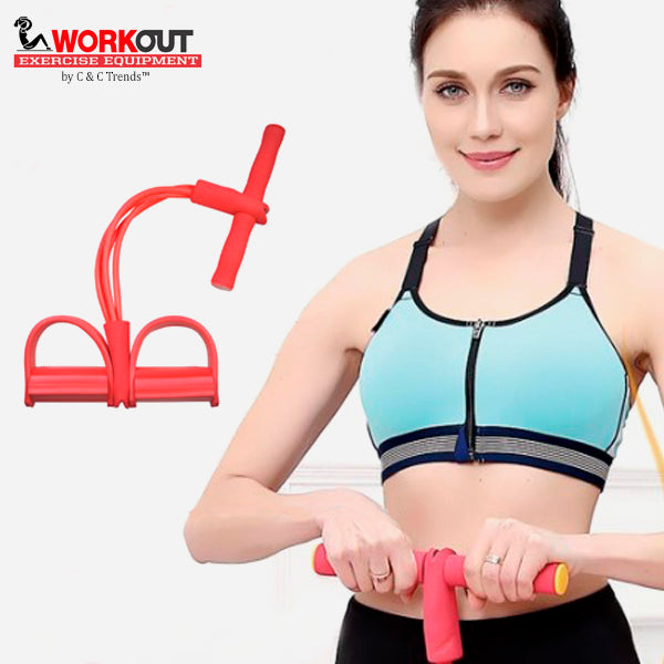 Multifunctional 4 Tubes Latex Training Sporty Device 6a