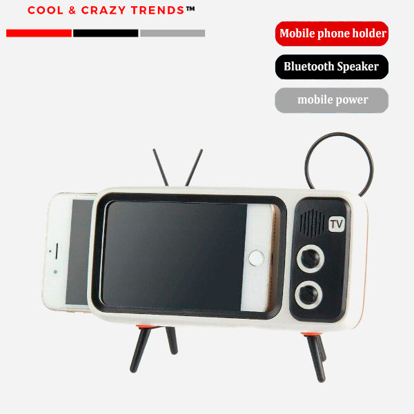 Multifunctional Stand Holder for Retro TV Style Mobile Phone
