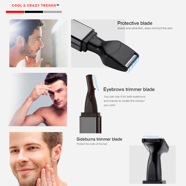 Multifunctional Wireless Hair Removal Set for Men™