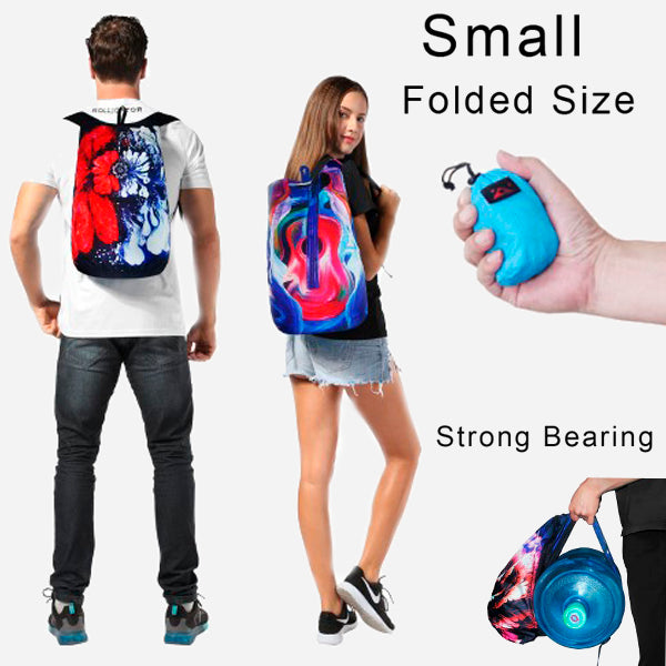 Multiuse Waterproof Foldable Backpack 19