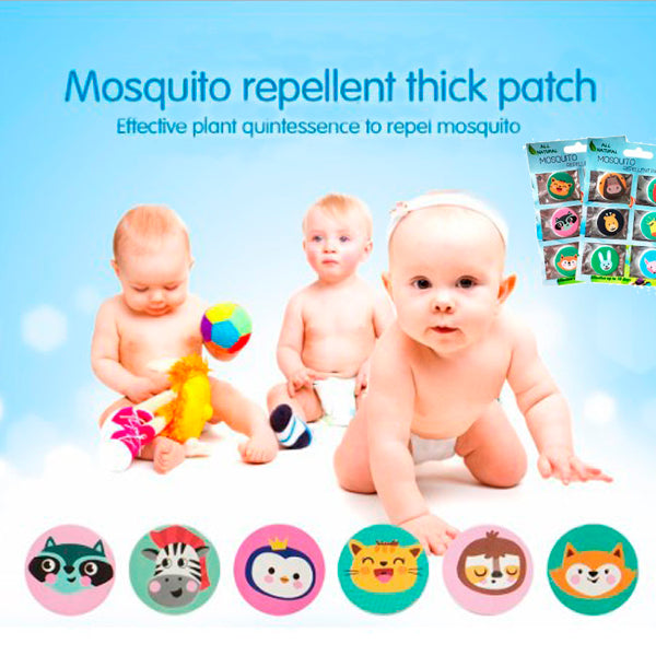 Natural Anti-Mosquito Repellent Set