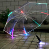 New Cool Led Transparent Umbrella