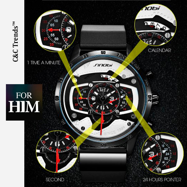 Original Speed Racing Fashion Watch 11