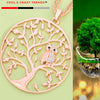 Owl Tree of Life Necklace