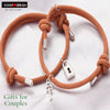 Padlock & key Magnetic Attraction Bracelets for Couples