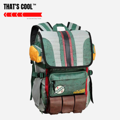 Panelled Laptop Anime Backpack