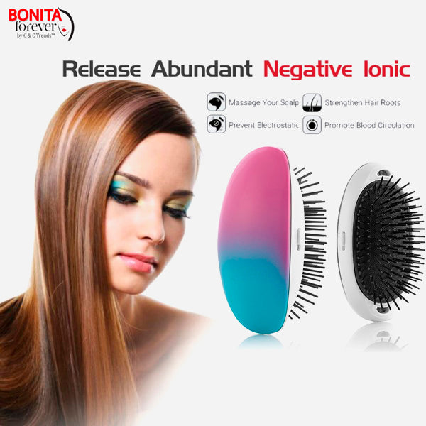 Portable Anti-static Electric Ionic Hairbrush 11