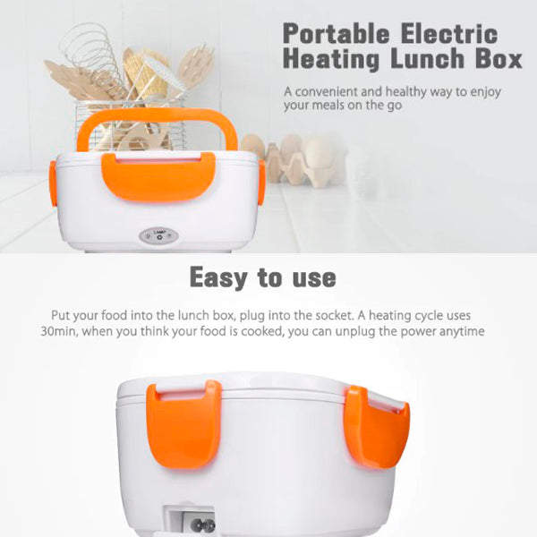 Portable Electric Heated Lunch Box
