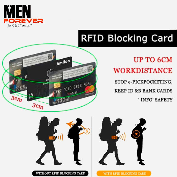 RFID Personalized Engraved Photo Wallet 4