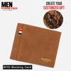 RFID Personalized Engraved Photo Wallet 6